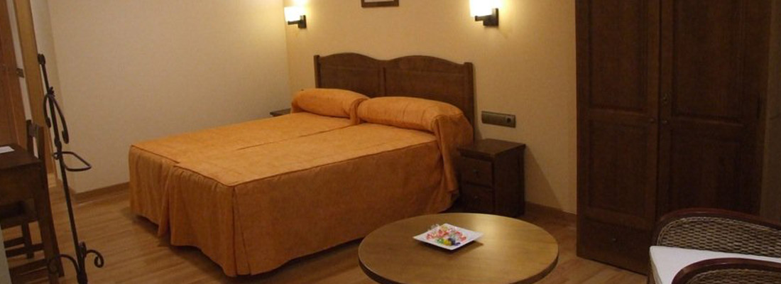 30 habitaciones con todos los servicios y comodidades