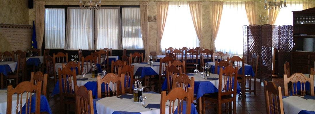 Pruebe los menús de Nuestro Restaurante y Cafetería